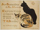 At the Bodiniere. 18 Rue S Lazare. Exhibition of the drawn and painted work of. TA Steinlen. From 10 April to 15 May.