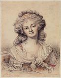 Portrait of Mademoiselle Bouillard