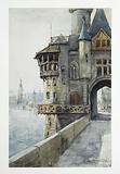 1900 Exhibition, Old Paris