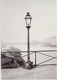 Lamppost, Pont des Arts, 6th arrondissement, Paris