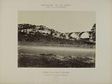 Diversion of the Vanne – Forest of Fontainebleau – Arcades of the Orléans road – Junction with the rocks of the …