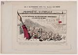 Supplement to the newspaper La Charge. 4 September 1870, by Alfred Le Petit.