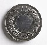 Medal awarded to Raymond de Liesville, member of the jury at the Fine Arts exhibition in the city of Alençon, 1865