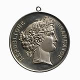 Medal of the jury of the musical competition of Neuilly-sur-Seine, 22 June 1879