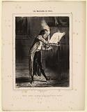The Musicians of Paris. Modern Paganini, burning his head in the heat of execution! 4.