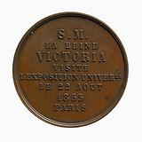 Visit of Queen Victoria to the Universal Exhibition in Paris, 22 August 1855