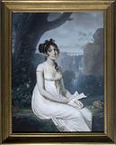 Presumed portrait of the singer Carolina Bianchi