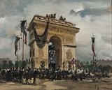 Funeral of Victor Hugo, 31 May and 1 June 1885