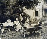 Victor Hugo with family in Ragatz in Switzerland