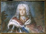 Presumed portrait of Marshal of Saxony