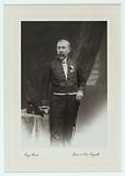 Charles Girault in academician costume, with the cross of Commander of the Order of Belgium and the great gold medal …