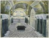 Crypt of Louis Pasteur's tomb at the Institut Pasteur