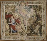 Dido and Aeneas surprised by the storm