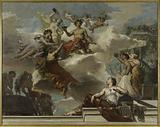 Sketch for the town hall of the 12th arrondissement: The triumph of Bacchus (ceiling of the grand staircase)