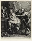 Suzanne surprised by the old men after Rubens