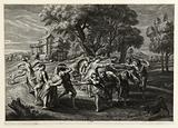 Village round after Rubens