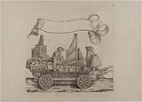 The Triumph of Emperor Maximilian I: Twenty-second plate, musicians (regale and positive organ)