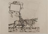 The Triumph of Emperor Maximilian I: Twenty-fifth plate, the music