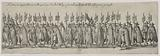 Funeral ceremony of Charles the third of the name, Duke of Lorraine, made in Nancy in the year 1608, fifth plate of …