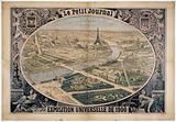 """The best-informed newspaper is the Petit Journal. Four million readers."""" Universal Exhibition of 1900""""."""