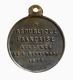 Proclamation of the French Republic on 4 September 1870, 1871