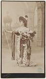 Sarah Bernhardt as Tosca