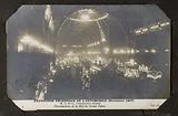 Album of views of Paris. Decennial Automobile Exhibition Illuminations of the Nave of the Grand Palais.