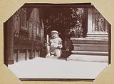 Amateur photographic album of the Universal Exhibition of 1900: detail of the [Dutch East Indies] pavilion