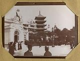 Amateur photographic album of the 1900 World's Fair: Chinese tower