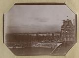 Amateur photographic album of the Universal Exhibition of 1900: [view of the Louvre, Pavillon de Flore]