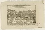 King Louis XVI, accompanied by the Guard of Honor, reviews a division of the National Guard in the presence of …