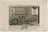 Rev of Paris. Pa. 368. Arrest and disarmament of suspicious people at the Château des Tuileries on 28 Fer. 1791.