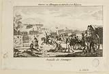 Victory of the French army of Dumouriez over the Austrians at Jemmapes (Belgium), near Mons, on 6 November 1792