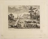 """Arrest of the French Ambassadors Sémonville and Maret in Novate (Italy) by the """"Burlandotti"""", customs officers, 25 …"""