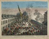 The great courtyard of the Hôtel Royal des Gobelins … a Mais à Monsieur le Brun, King's first painter