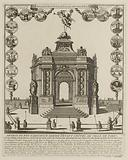 The temple of honor raised to the glory of Louis the Great