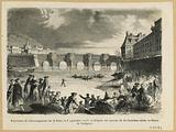Shoe-fin experiment on the Seine, 5 September 1785