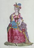 Lady Aristocrat cursing the Revolution