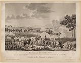 Battle of Marengo. Gagnee by Bonaparte, Commander in Person of the French Army on 14 June 1804.