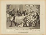 HRH Mgr. The Duke of Berri on the deathbed.