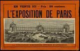 On Sale Here – Price: 50 centimes. Paris exhibition.