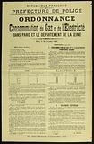 French Republic. Liberty – Equality-Fraternity. Police Department. General Inspection of Traffic and Transport.