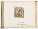 Asplet album folio 60, dedication by Clément Dulac and isolated photograph