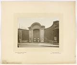 Portal of the former convent of the Ladies of the Sacred Heart of Jesus, boulevard des Invalides, 7th arrondissement, …