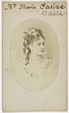 Portrait of Mme Marie Saeixe (actress?)