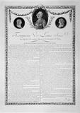 Testament of Louis XVI. Complies with the minute filed with the Paris Commune.