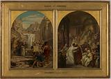 Sketch for the church of Saint-Ambroise: Saint Augustine putting an end to a barbaric usage according to which …
