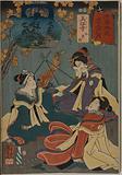 Mieji: Observation of autumn leaves (Momijigari)