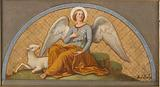 Sketch for Saint Joseph's Church: The Angel of Meekness and Chastity – Apotheosis of Saint Joseph – The Angel of …