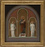 Sketch for Saint-Joseph church: Saint Joseph